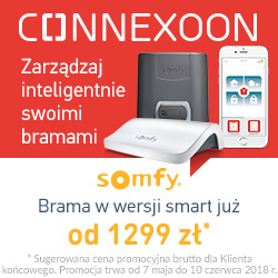 Somfy Connexoon Promocja