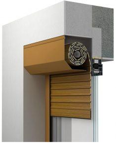 Roleta zewnętrzna adaptacyjna montowana we wnęce okiennej